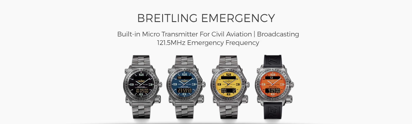 Breitling Emergency redesign