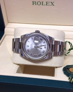 Rolex Datejust 116200 36mm Rhodium Dial Unworn