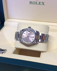 Rolex Lady Datejust 31mm Mid/Size 178240 Pink Baton Dial From 2011