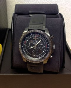 Breitling For Bentley 6.75 M44364 Midnight Carbon Limited Edition Of 1,000 Pieces World-Wide