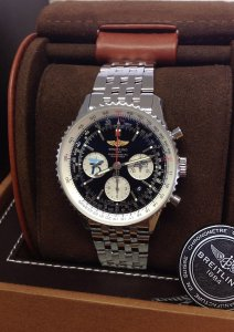Breitling Navitimer 01 AB0120 Battle Of Britain Edition