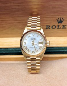 Rolex Datejust Ladies 26mm 79178 18ct Yellow Gold