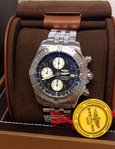 Breitling Chronomat Evolution A13356 Black Dial