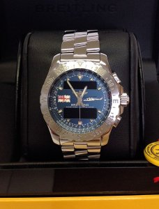 Breitling Airwolf A78363 Lynx Helicopter Limited Edition