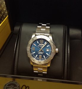 Breitling Colt 44 Blue Dial A74387 From 2014