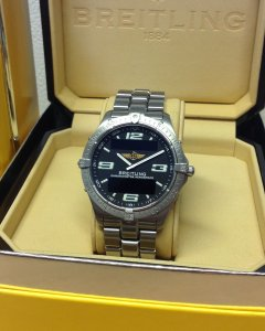 Breitling Aerospace E75362 Black Dial Sold As New By Ourselves In 2002