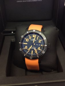 Fortis B-42 Black Mars 500 Limited To 2012 Pieces
