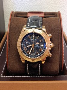 Breitling Chronomat Evolution H13356 18ct Rose Gold