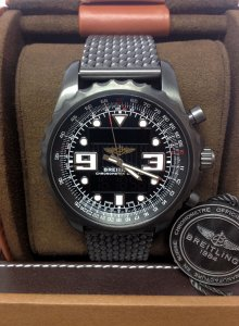 Breitling Chronospace M78365 Blacksteel