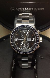 Oris WilliamsF1 Team Chronograph 01 673 7563 4184