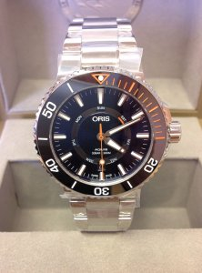 Oris Aquis Staghorn Restoration Limited Edition