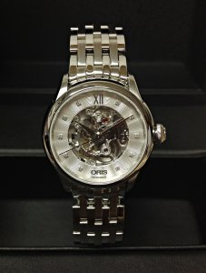 Oris Artelier Skeleton Diamonds 01 560 7604 4019