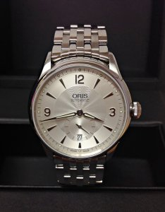 Oris Artelier Small Second Date 01 623 7582 4071