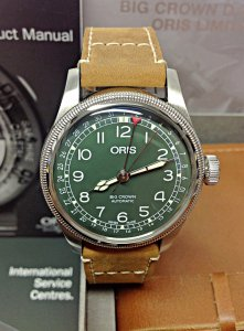 Oris Big Crown D.26 286 HB-RAG 01 754 7741 4087
