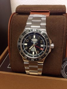 Breitling Superocean GMT A32380 41mm Black Dial
