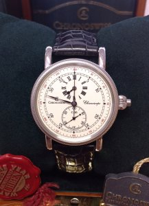 Chronoswiss Chronoscope CH1523 New Old Stock