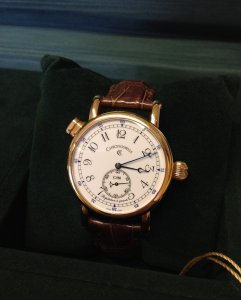Chronoswiss Quarter Repeater 18ct Rose Gold White Dial - REF: CH 1641R