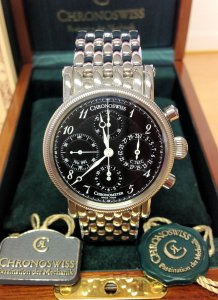 Chronoswiss Chronometer CH7523 New Old Stock