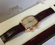 Oris 18ct Yellow Gold Mechanical Alarm Limited Edition Of 250