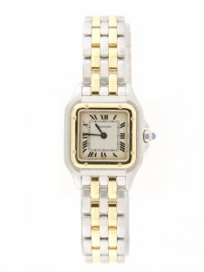 Cartier Panthere Ladies Bi/Colour 1120 Two Row Yellow Gold
