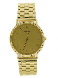 Gucci 18ct Yellow Gold Gents Dress Watch 705M