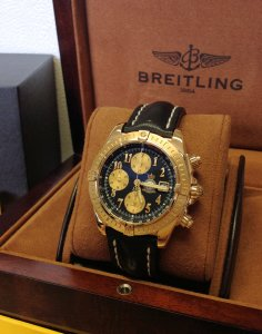 Breitling Chronomat Evolution 18ct Yellow Gold 'Red Arrows' Limited Edition Of 40 Pieces K13356