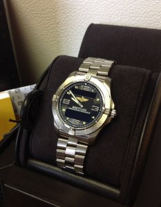 Breitling Aerospace Black Dial E79362 New Old Stock