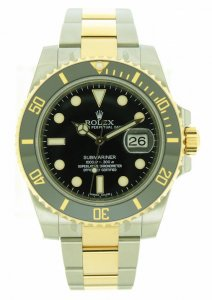 Rolex Submariner Date Bi/Colour Black Kit 116613LN