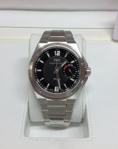 IWC Big Ingenieur 7 Day Power Reserve Black Dial IW500505