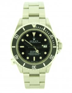 Rolex Sea Dweller Black Dial 16600