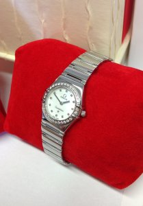 Omega Constellation My Choice Diamond Bezel 1465.71.00