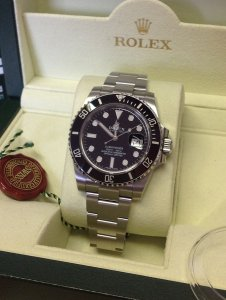 Rolex Submariner Date Black Ceramic Bezel 116610LN