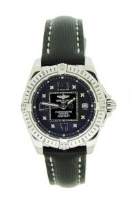 Breitling Lady Cockpit Black Diamond Dot Dial A71356
