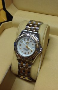 Breitling Callistino Mother Of Pearl Dial Bi/Colour D72345