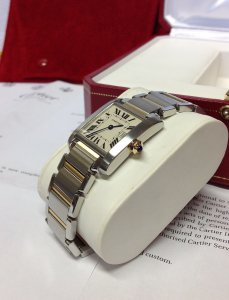 Cartier Tank Francaise 25mm Bi Colour W51012Q4