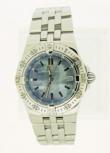 Breitling Starliner Blue Mother Of Pearl Dial A71340