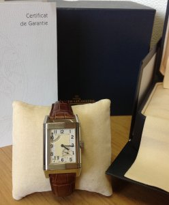 Jaeger Le Coultre Reverso Grand Date 8 Day Power Reserve 240.8.15