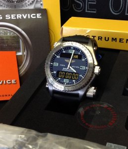 Breitling Emergency Blue Dial E56121 Just Serviced
