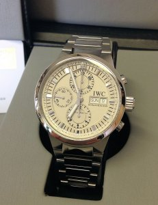 IWC GST Rattrapante Chronograph IW371508 Serviced