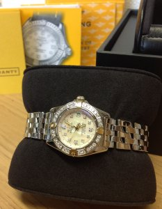 Breitling Callistino Bi/Colour Diamond Bezel B72345