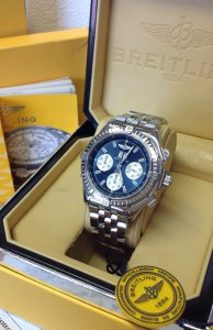 Breitling Crosswind Special Blue Dial Just Serviced By Breitling UK