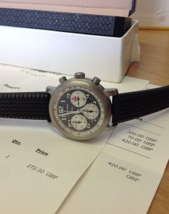 Chopard Mille Miglia Titanium Chronograph 8407 Just Serviced