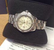 Breitling Colt Oceane White Dial Diamond Bezel A77380 Just Serviced