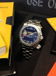 Breitling Emergency Orbiter III Full Set Just Serviced By Breitling UK