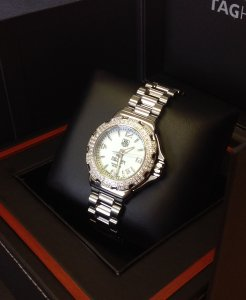 Tag Heuer Formula 1 Ladies 34mm Diamond Bezel WAC1215-0