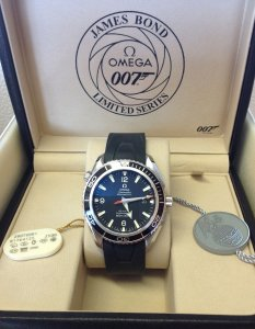 Omega Planet Ocean Casino Royale Edition Limited Edition Of 5,007 Pieces 2907.50.91 Unworn