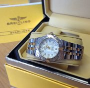 Breitling Starliner Bi/Colour Mother Of Pearl Diamond Dot Dial B71340