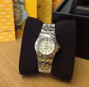 Breitling Starliner White Mother Of Pearl Baton Dial A71340