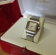 Cartier Santos Galbee 34mm Automatic Bi/colour 2319 Just Serviced By Cartier UK
