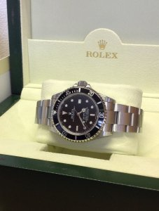 Rolex Sea Dweller Black Dial 16600 Just Serviced By Rolex